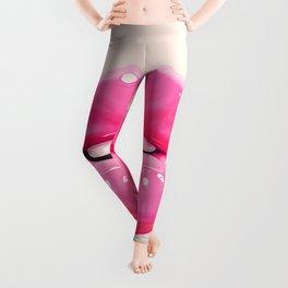 Fashion pink lips I Leggings