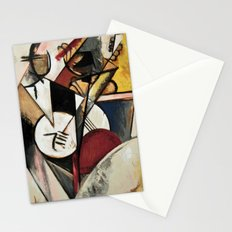 Study after Gleizes' Composition pour Jazz Stationery Cards