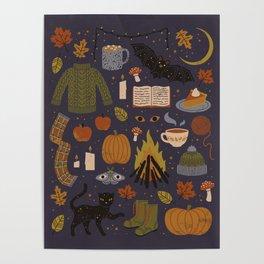 Autumn Nights Poster