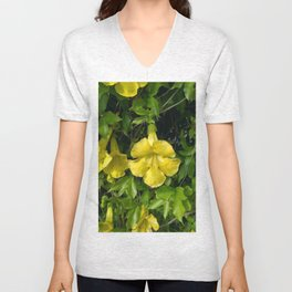 Cat's Claws Vines Unisex V-Neck