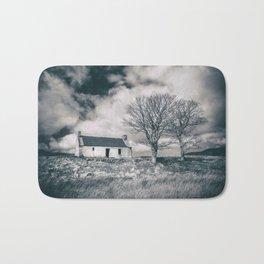 Highland Cottage, monochrome. Bath Mat