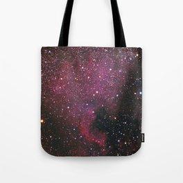 The North American Nebula Tote Bag