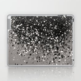Silver Gray Glitter #1 #shiny #decor #art #society6 Laptop & iPad Skin