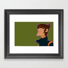 M . I . K . E Framed Art Print