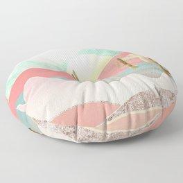 Desert Mountains Floor Pillow