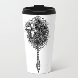 Natural detailing 10,  mirror Travel Mug