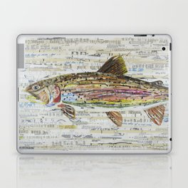 Rainbow Trout Collage by C.E. White Laptop & iPad Skin