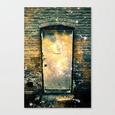 What Lies Beyond the Door Part II Canvas Print