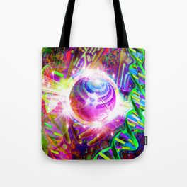 Harnessing the Power of Bass (Bassnectar Art) Tote Bag
