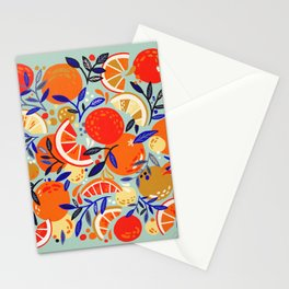 Fresh Citrus Mesh – Mint Stationery Cards