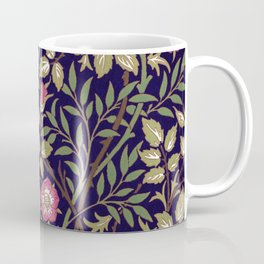 William Morris Sweet Briar Floral Art Nouveau Coffee Mug