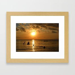 Fisherman's Paradise Framed Art Print