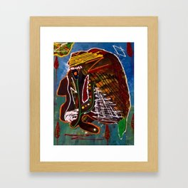 indian figther  Framed Art Print