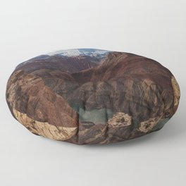 Marble Canyon Floor Pillow