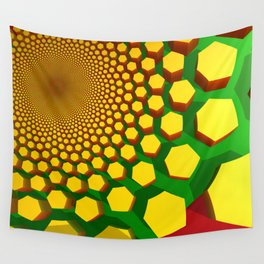 Sun Hive Wall Tapestry