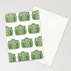 I Still Shoot Film Holga Logo - Green Stationery Cards