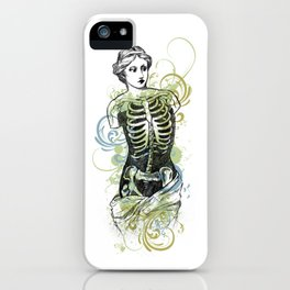 Skeleton Lady Venus Di Zombie iPhone Case