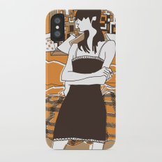 Call if you need me iPhone X Slim Case