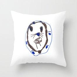 Sabor Tooth Tiger Throw Pillow