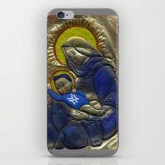 Jesus Was A Yankee's Fan iPhone & iPod Skin