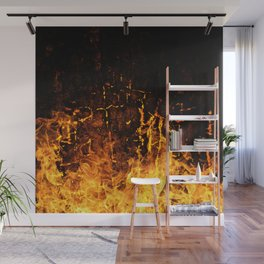 Hot Stuff / Let it burn Wall Mural