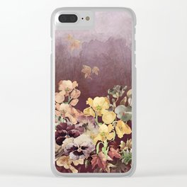 Falling Into Fall Clear iPhone Case