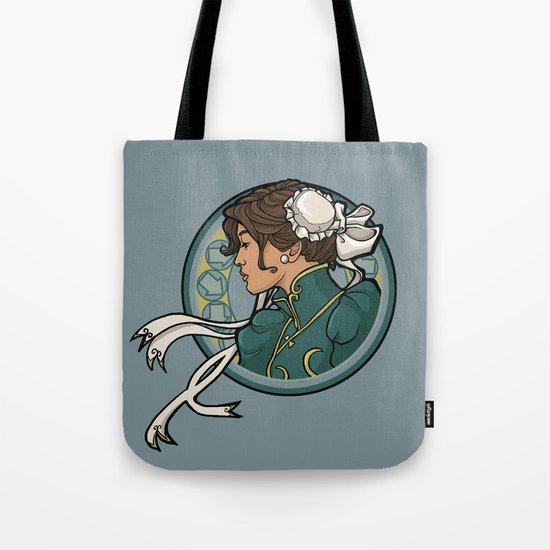 Chun-Li Nouveau Tote Bag