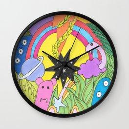 Monster Universe Wall Clock