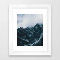 Cloud Mountain - Landscape Photography Framed Art Print