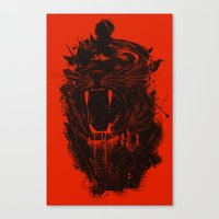 king Canvas Prints featuring The King by nicebleed
