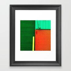 Building 1 Framed Art Print