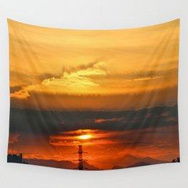 Sunset Horizon Wall Tapestry