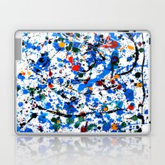 Abstract #23 - Frenzy in Blue Laptop & iPad Skin
