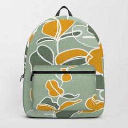 Variegated leaves Backpack