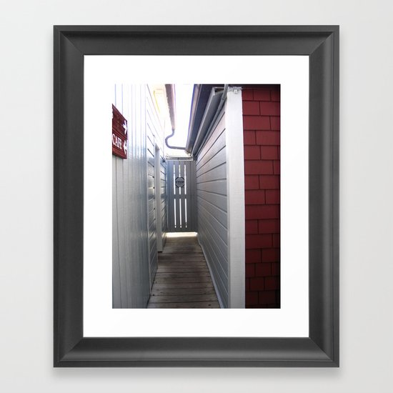 Which way now? Framed Art Print