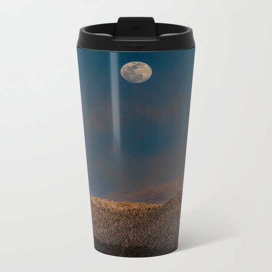 Colorado Moonrise Metal Travel Mug