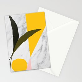 Tropical Marble Stationery Cards
