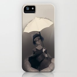 Always under your Shadows iPhone Case
