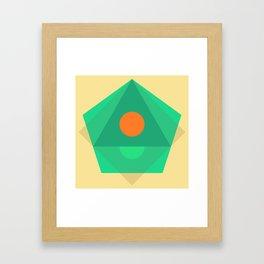Soft Pastel Framed Art Print