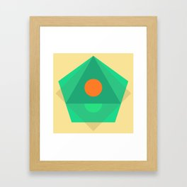 Soft Pastel Framed Art Print
