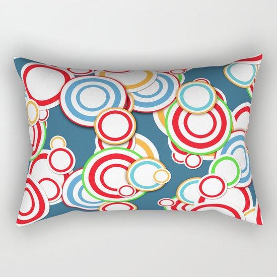 Pattern circle top Rectangular Pillow