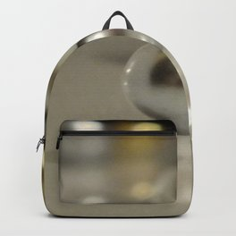 Silver And Gold Backpack
