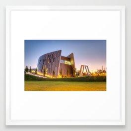 The Center for Civil and Human Rights Framed Art Print