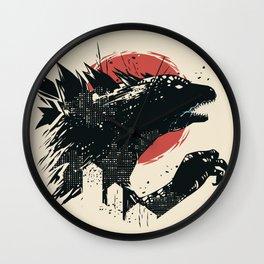 Godzilla Wall Clock