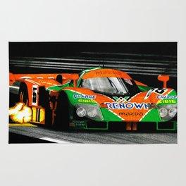 Mazda 787B, 1991 Le Mans winner Rug
