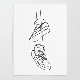 Sneakers art,Casual Shoes,Hipster Prints,Printable Wall Art,Large Poster Decor,shoe art , Poster