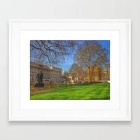 mod Framed Art Prints featuring MoD by JM Pilkington