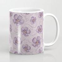 magnolia Mugs featuring Magnolia by Vickn