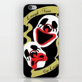 laugh now iPhone Skin