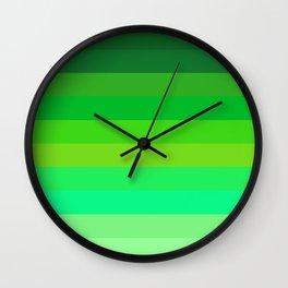 Alien Blood Wall Clock